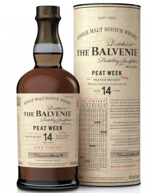 Balvenie Peat Week Aged 14 Year Old