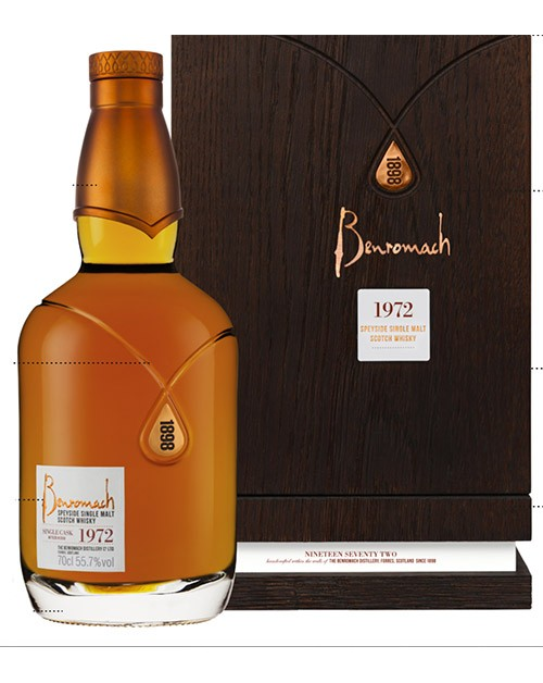 Benromach Heritage 1972 Single Malt Whisky