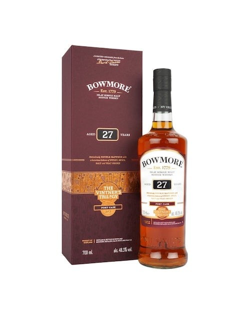 Bowmore Vintner's Trilogy 27 Year Old Single Malt Whisky