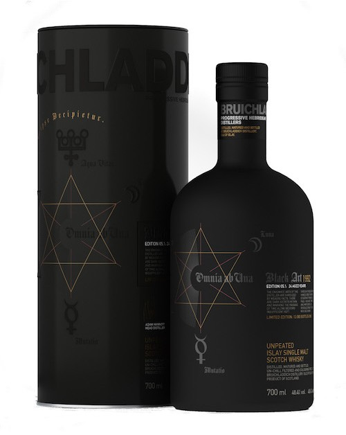Bruichladdich Black Art 5th Release 24 Year Old
