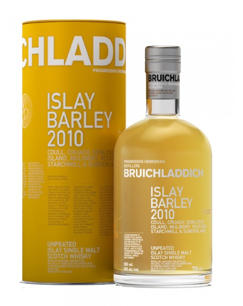 Bruichladdich Islay Barley 2010 Single Malt Whisky