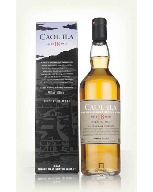 Caol Ila 18 Year Old Limited Release 2017 Single Malt Whisky