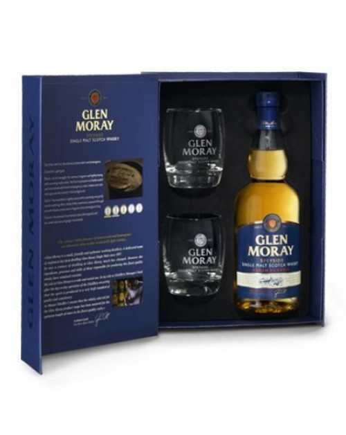 Glen Moray Classic Glass Gift Pack