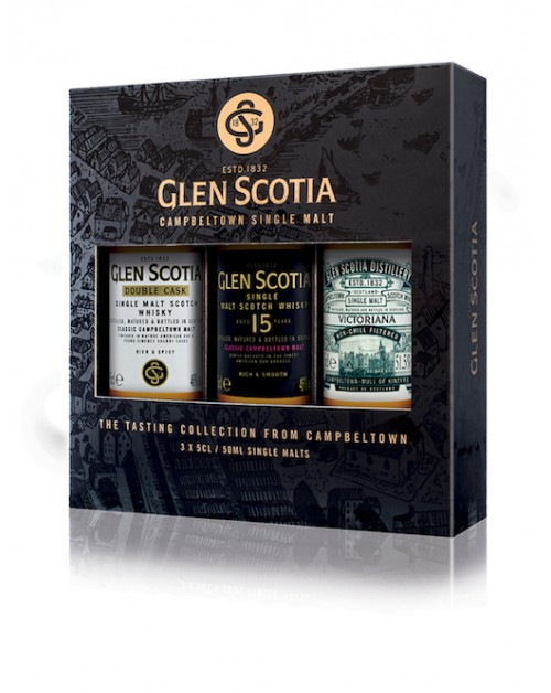 Glen Scotia Miniature Whisky Gift Pack