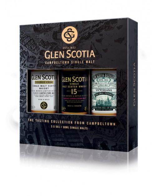 Glen Scotia Miniature Whisky Gift Pack