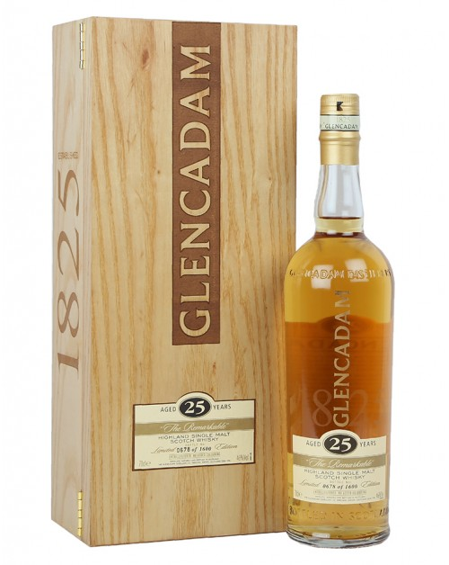 Glencadam 25 Year Old Single Malt Whisky