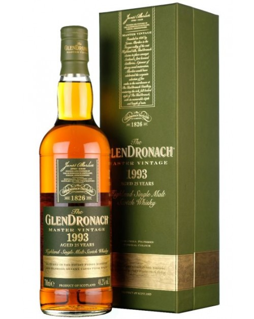 Glendronach 1993 - 25 Year Old Master Vintage