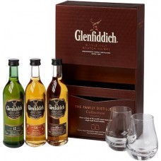 Glenfiddich Family Distillers Collection Whisky Gift Set