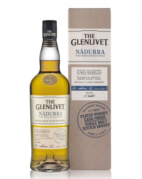Glenlivet Nàdurra Peated Whisky Cask Finish