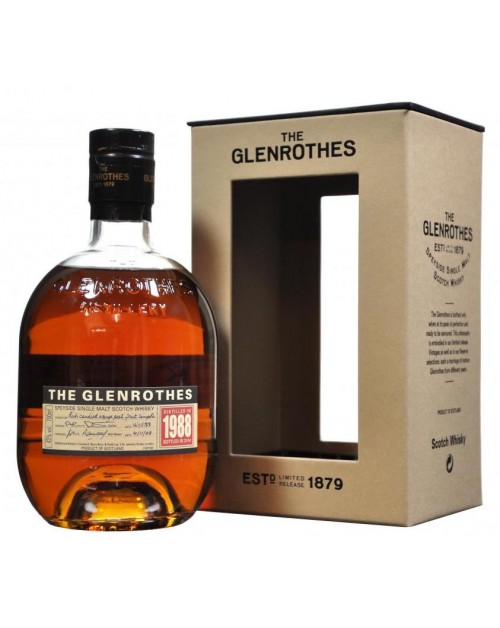 Glenrothes 1988 (bottled 2011) Single Malt Whisky