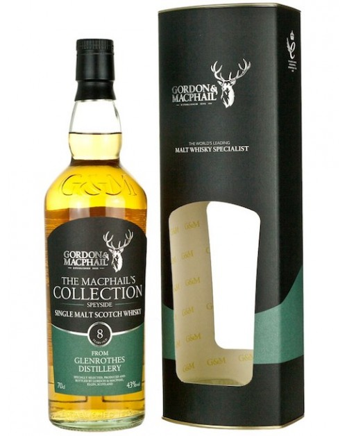 Glenrothes 8 Year Old (Gordon & MacPhail) Single Malt Whisky