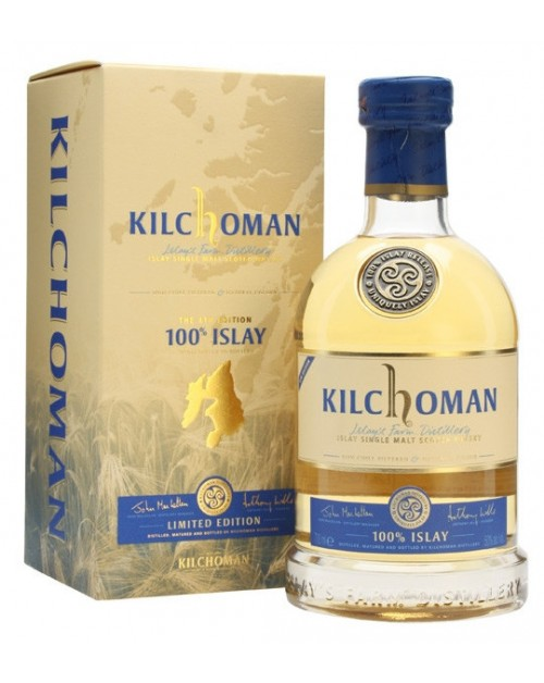 Kilchoman 100% 4th Edition Islay Single Malt Whisky