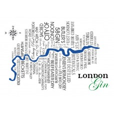 London Gin Sat Nav Map