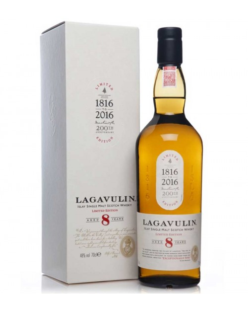 Lagavulin 8 Year Old 200th Anniversary (Special Release 2016)