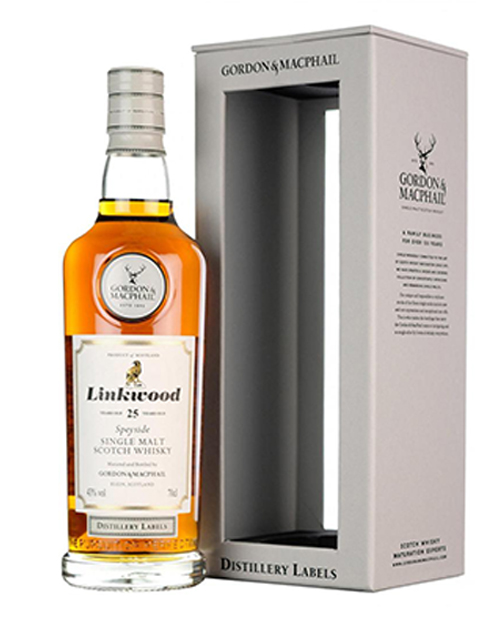 Linkwood 25 Year Old Single Malt Whisky