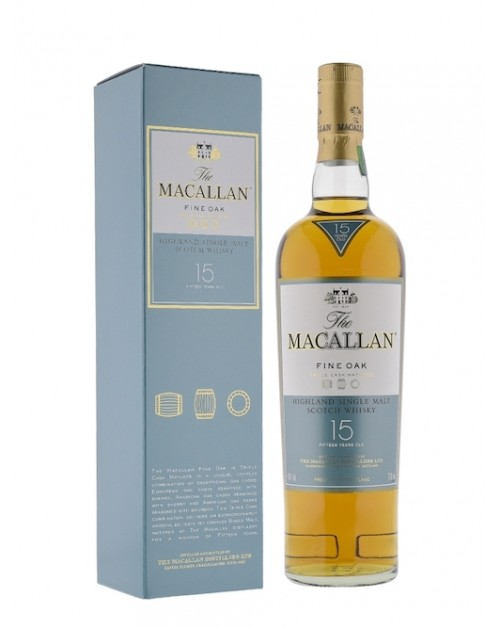 Macallan 15 Year Old Triple Cask Single Malt Whisky