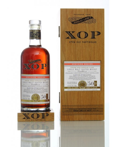 XOP Speyside's Finest 50 Year Old Single Malt Whisky