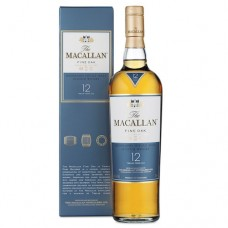 Macallan 12 Year Old Fine Oak Single Malt Whisky