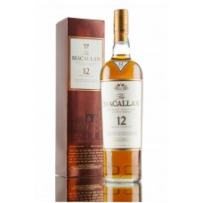 Macallan 12 Year Old Sherry Oak Single Malt Whisky