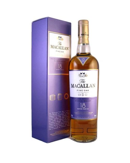 Macallan 18 Year Old Fine Oak Single Malt Whisky