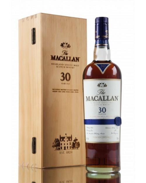 Macallan 30 Year Old Sherry Oak Single Malt Whisky