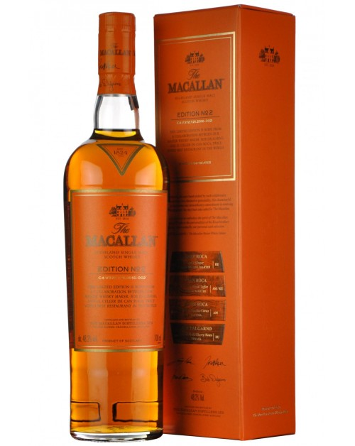 Macallan Edition No.2 Single Malt Whisky