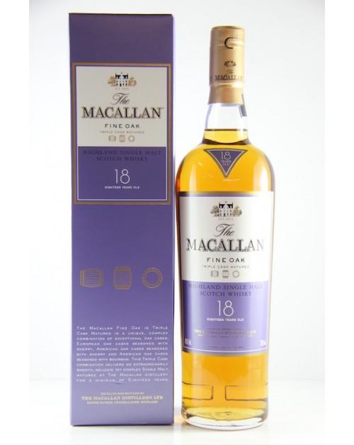 Macallan 18 Year Old Triple Cask Single Malt Whisky
