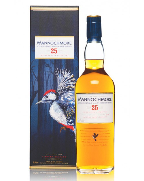 Mannochmore 25 Year Old 1990 (Special Release 2016) Single Malt Whisky