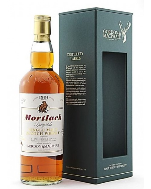 Mortlach 1984 (bottled 2014) (Gordon & MacPhail) Single Malt Whisky