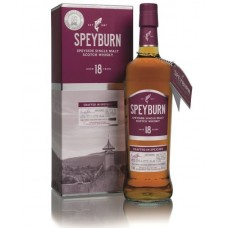 Speyburn 18 Year Old Single Malt Whisky
