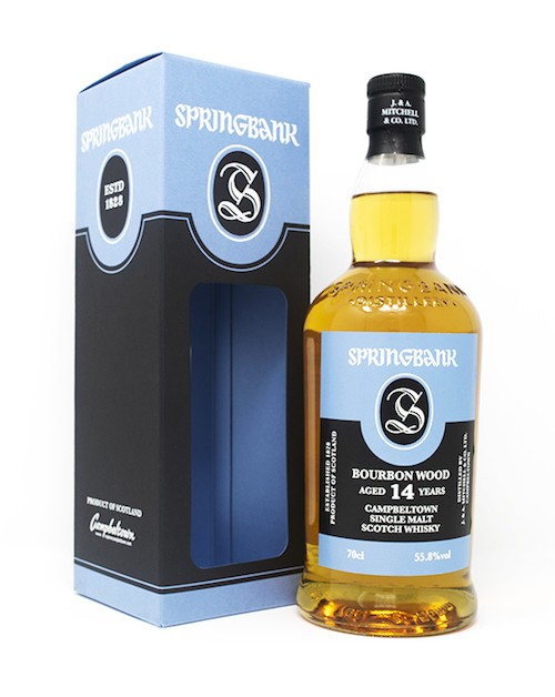 Springbank 14 Year Old Bourbon Wood