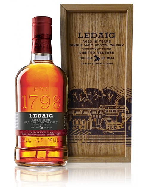 Ledaig 18 Year Old Single Malt Whisky