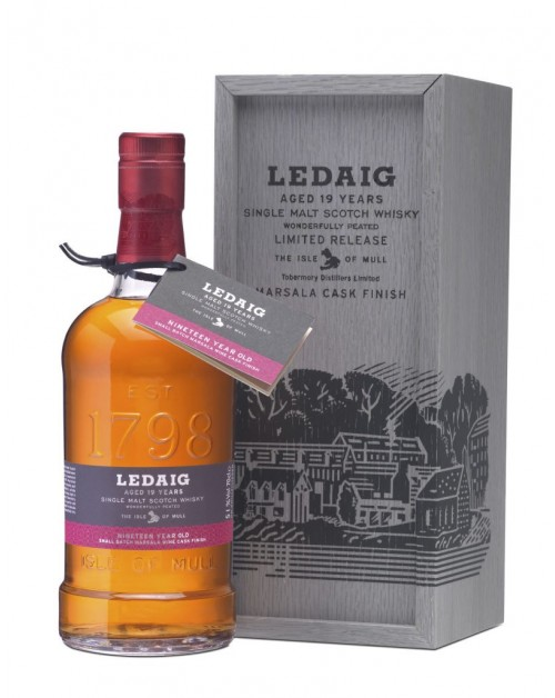 Ledaig 19 Year Old Marsala Cask Finish Single Malt Whisky