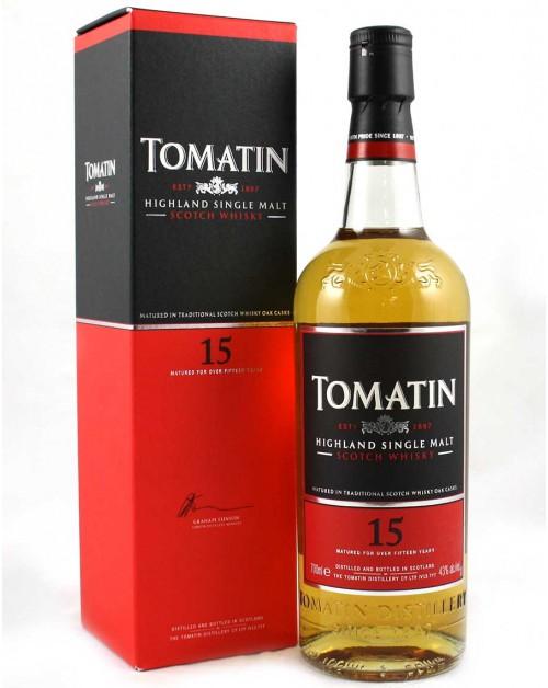 Tomatin 15 Year Old Single Malt Whisky