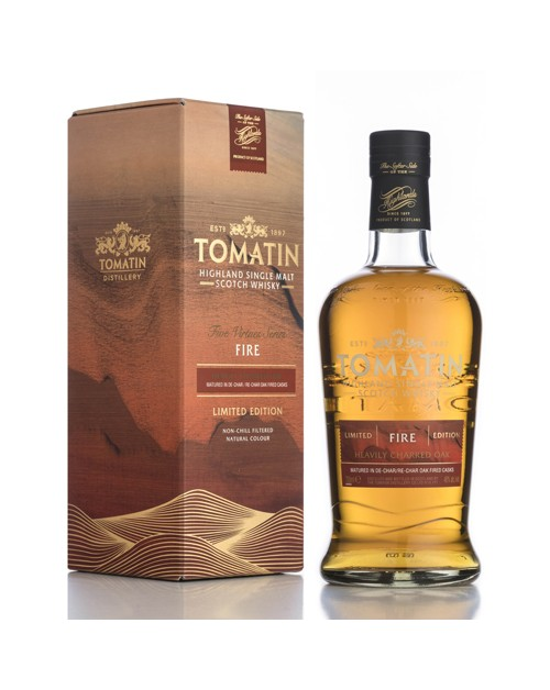 Tomatin Five Virtues - Fire Single Malt Whisky