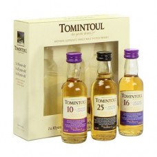 Tomintoul Triple Pack Whisky Gift Set