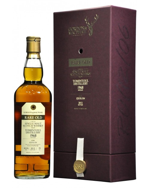 Tomintoul 1968 (bottled 2012) - Rare Old (Gordon & MacPhail) Single Malt Whisky