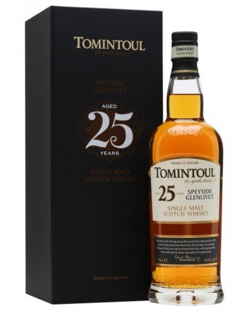Tomintoul 25 Year Old Single Malt Whisky