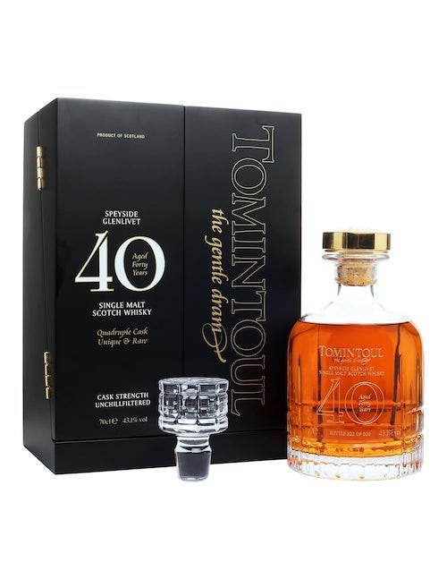 Tomintoul 40 Year Old Single Malt Whisky