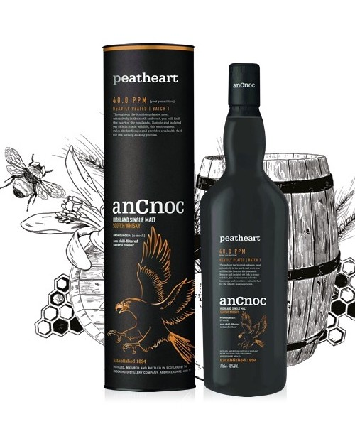 anCnoc Peatheart Single Malt Whisky