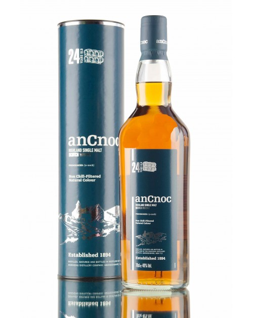 anCnoc 24 Year Old Single Malt Whisky