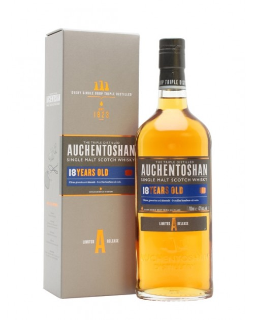 Auchentoshan 18 Year Old Single Malt Whisky