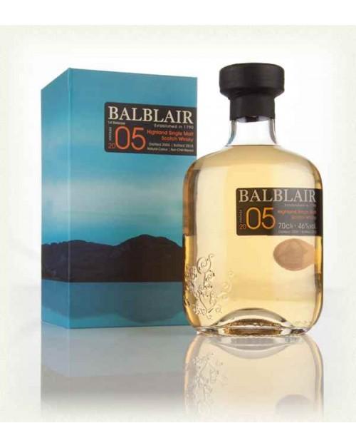 Balblair 2005 1st Release Single Malt Whisky