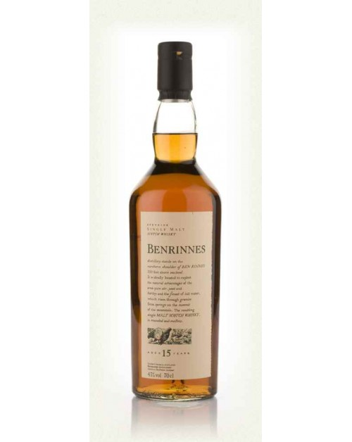 Benrinnes 15 Year Old Single Malt Whisky
