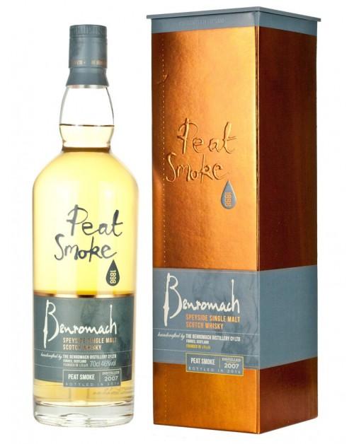 Benromach Peat Smoke 2007 Single Malt Whisky