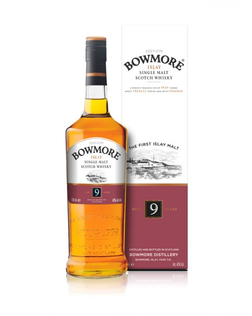 Bowmore 9 Year Old Single Malt Whisky