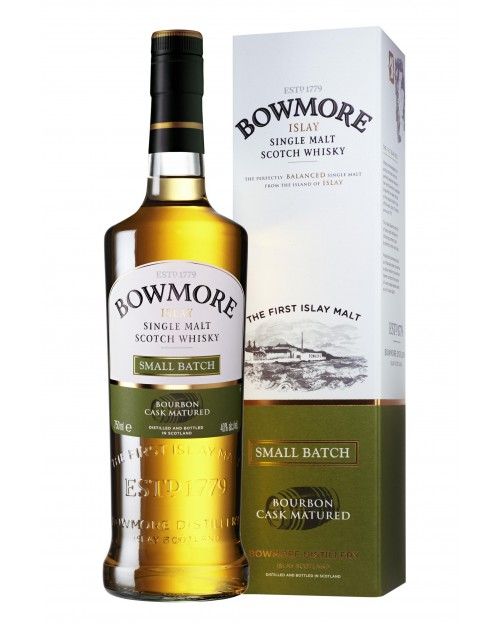 Bowmore Small Batch Bourbon Cask Matured Single Malt Whisky