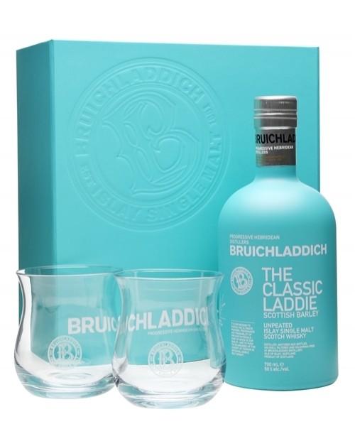 Bruichladdich Classic Laddie Glass Pack