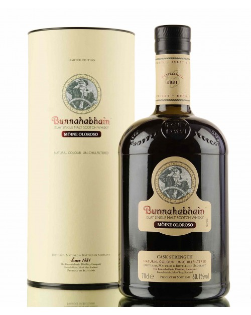 Bunnahabhain Moine Oloroso Single Malt Whisky