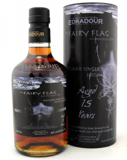 Edradour 15 Year Old 'The Fairy Flag' Single Malt Whisky